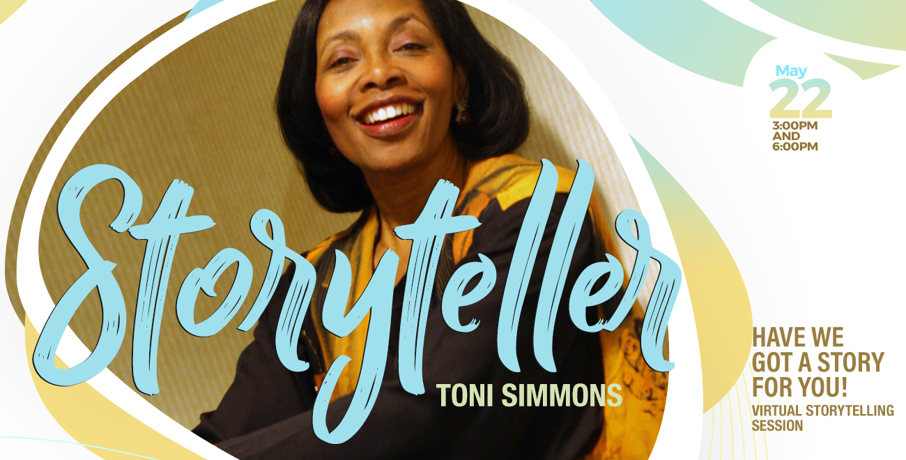 """Featured image for """"Storyteller feat Toni Simmons"""""""